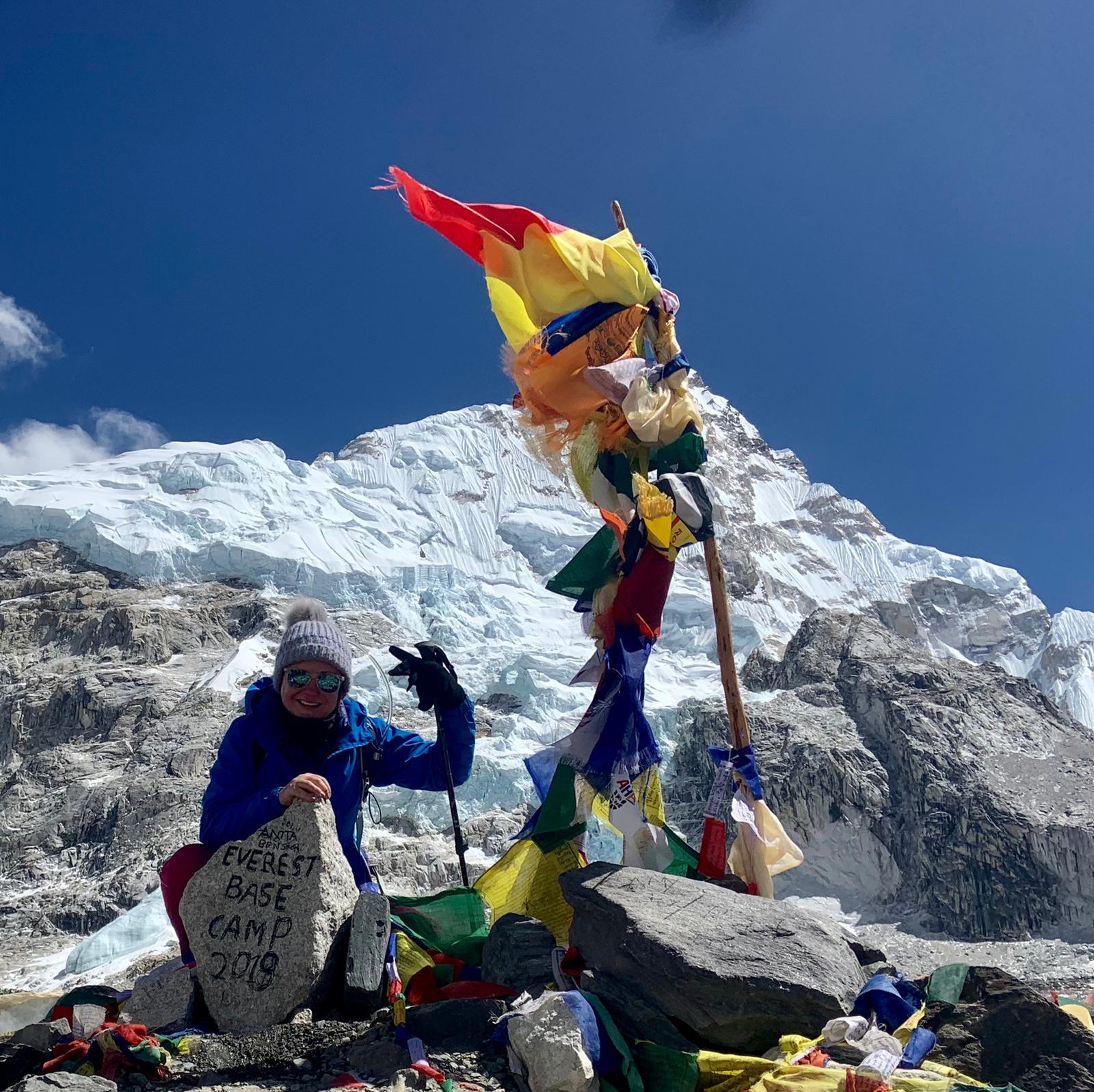 Catriona O'Brien Everest Base Camp Climb The Sisterhood