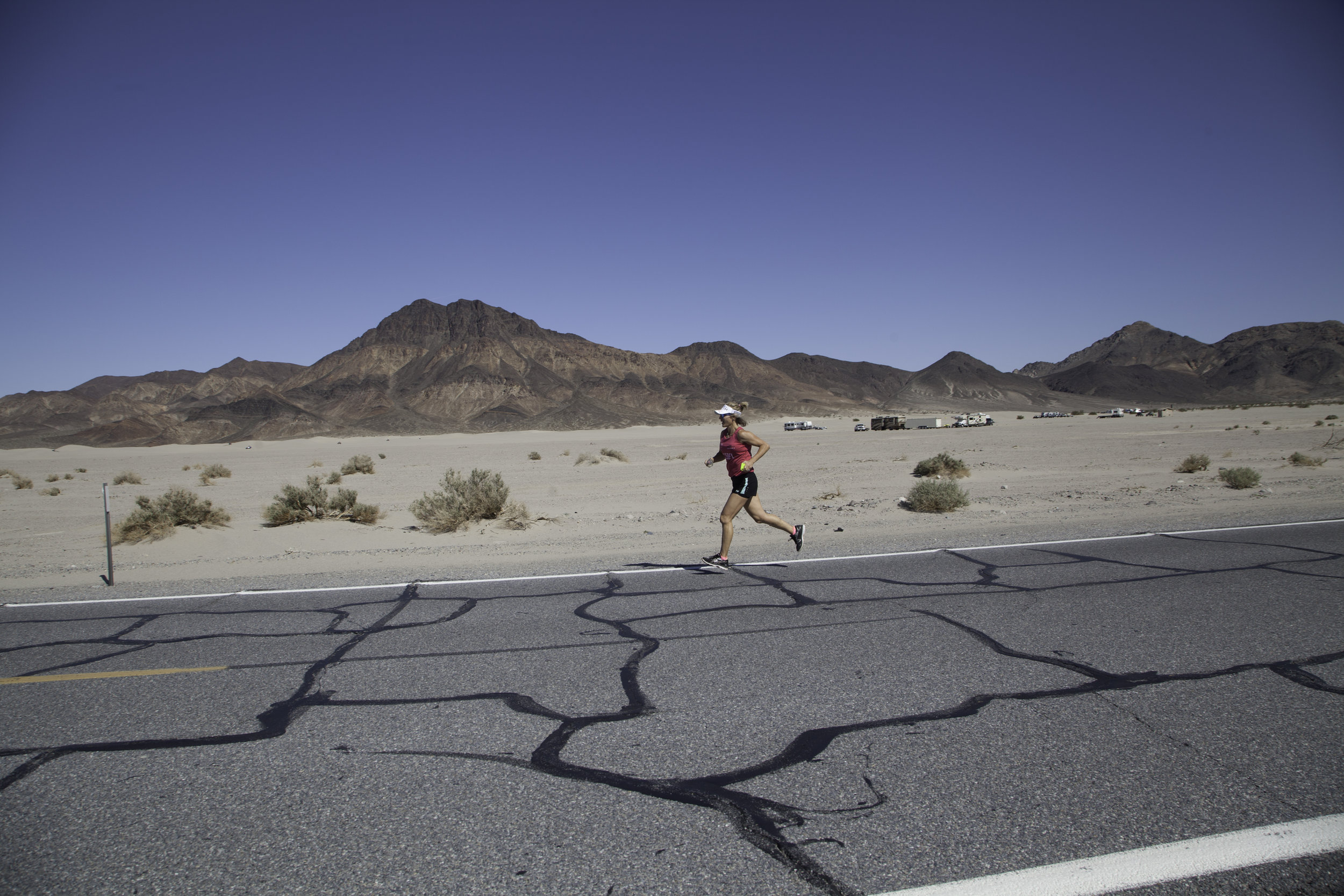 The Speed Project - A gruelling 340 mile ultra-relay, starting at Santa Monica Pier in Los Angeles and ending in Las Vegas (via Death Valley). The race is completely unsupported and over some incredibly challenging terrain.