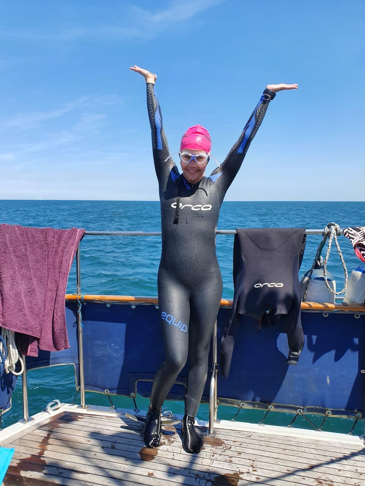 The Sisterhood English Channel Swim