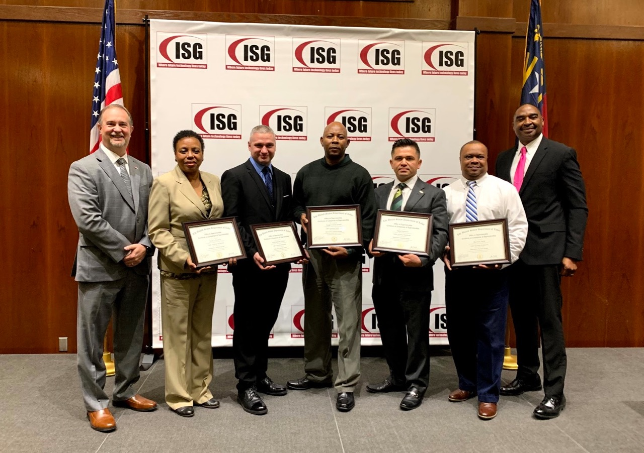 Innovative Systems Groups Cybersecurity Apprenticeship Graduates in  Raleigh NC