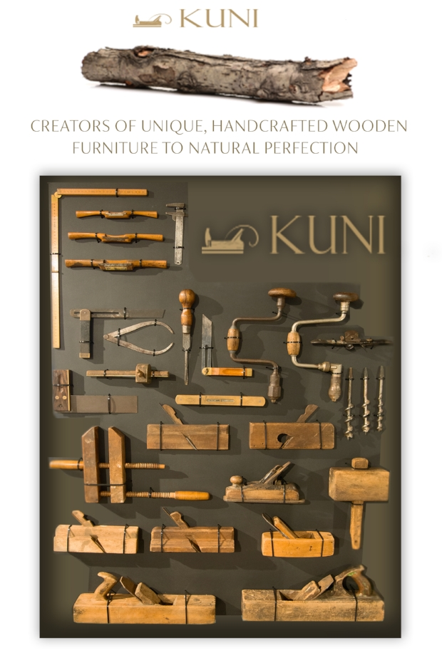 We are proud to be the exclusive retail suppliers of the unique handcrafted Kuni Furniture Collection,  A collaboration of art and design crafted to natural perfection, enhancing any interior space with function, beauty and the contemporary charm of natural wood