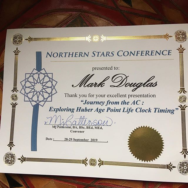 New certificate owna! Amazing time had at the northern-stars.ca conference. First of its kind on the East Coast — astrology coming out on this side of the Atlantic 💫