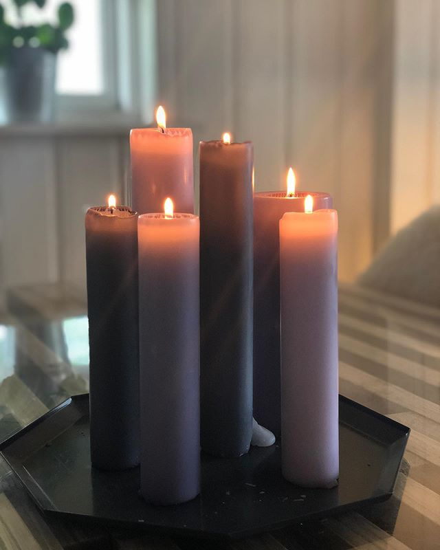 Candles.. so calm. Greate Day to you all ❤️❤️🙌🏼🌟 . . . . #madeinddenmark #diederichlys #smukt #outdoordecor #udendørshygge #housedoctor #bloomingville #iblaursen #nordiqas