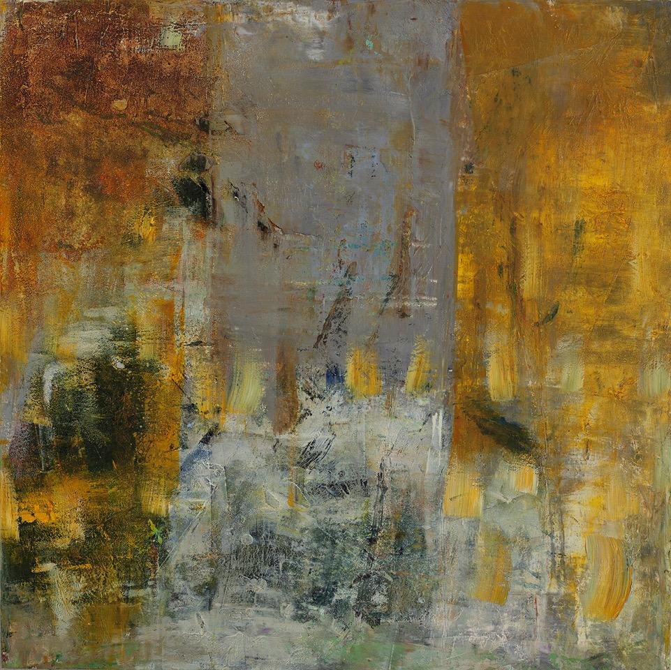 Seeking Solace - Oil and wax on board12 x 121,400.00