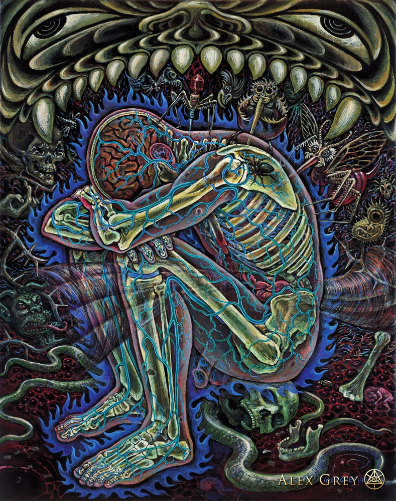 Despair by Alex Grey