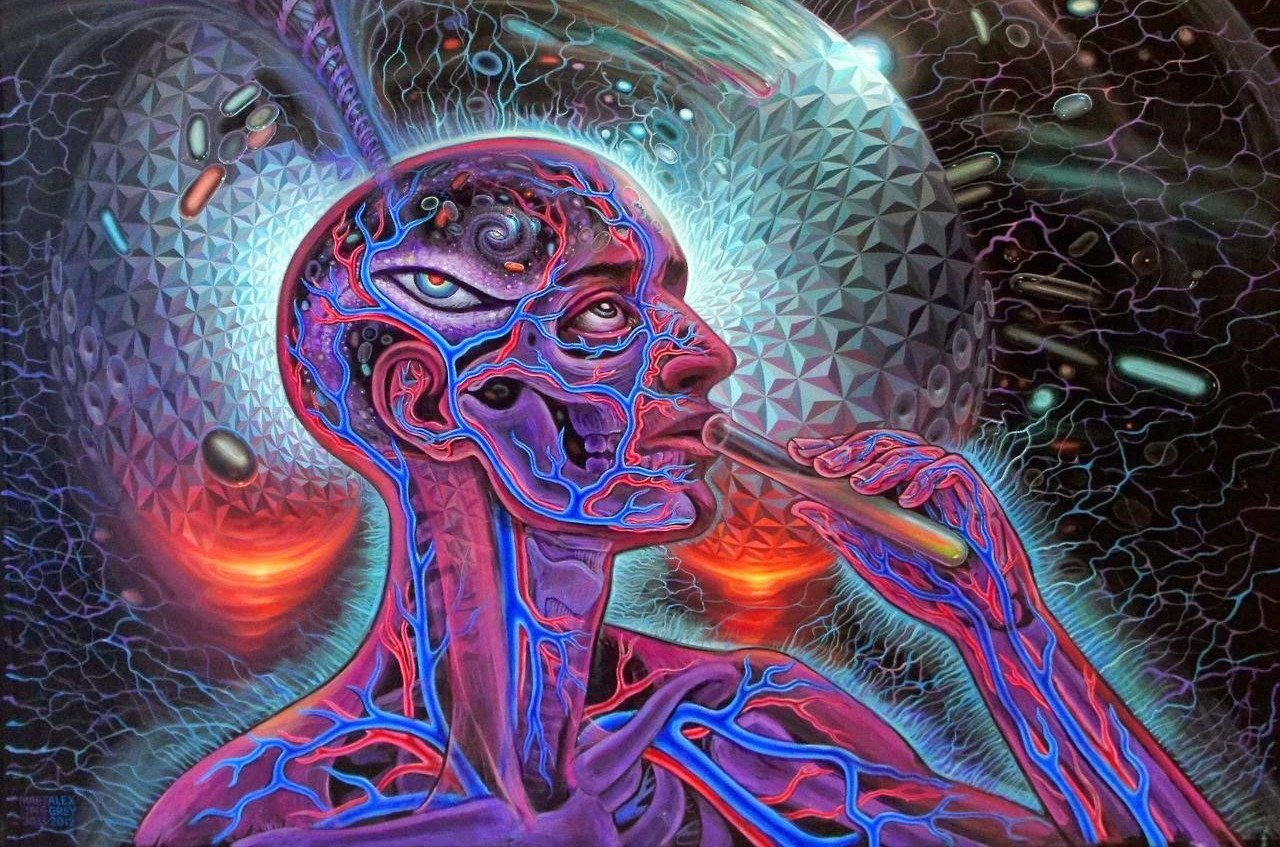Artwork by Alex Grey