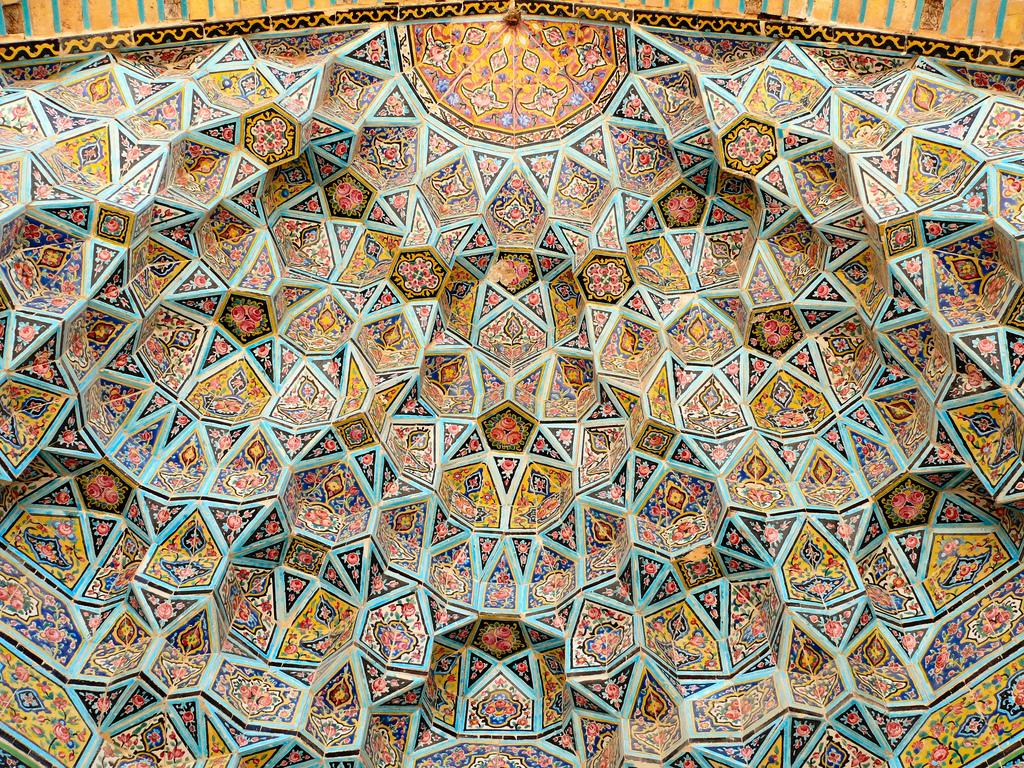 Nasr ol Molk Mosque Vault Ceiling