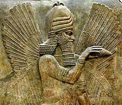 Sumerian God Marduk