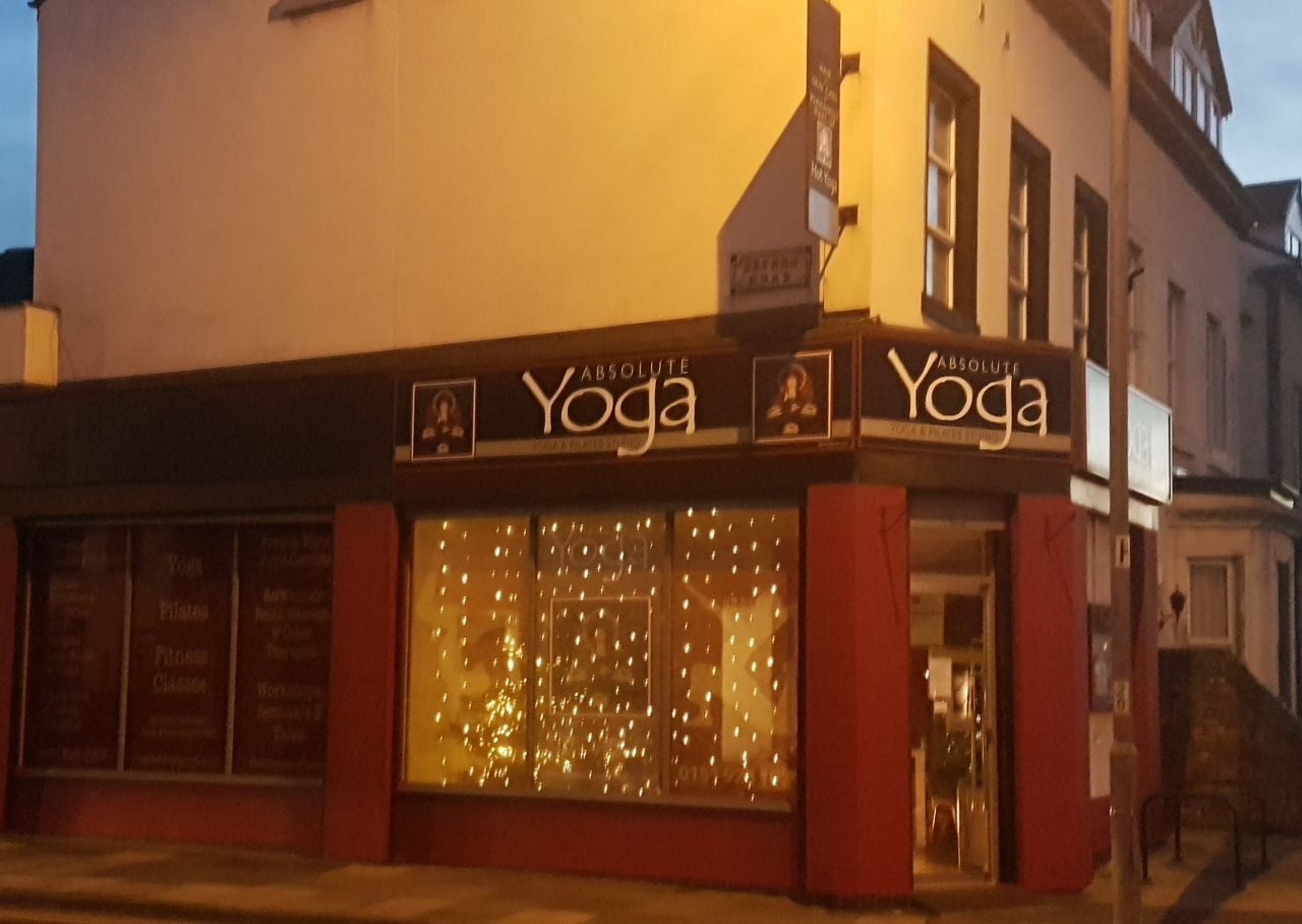 - Absolute Yoga121 Oxford Road,Waterloo, LiverpoolL22 7RETel: 01519281029Email: infoyogacrosby@gmail.com