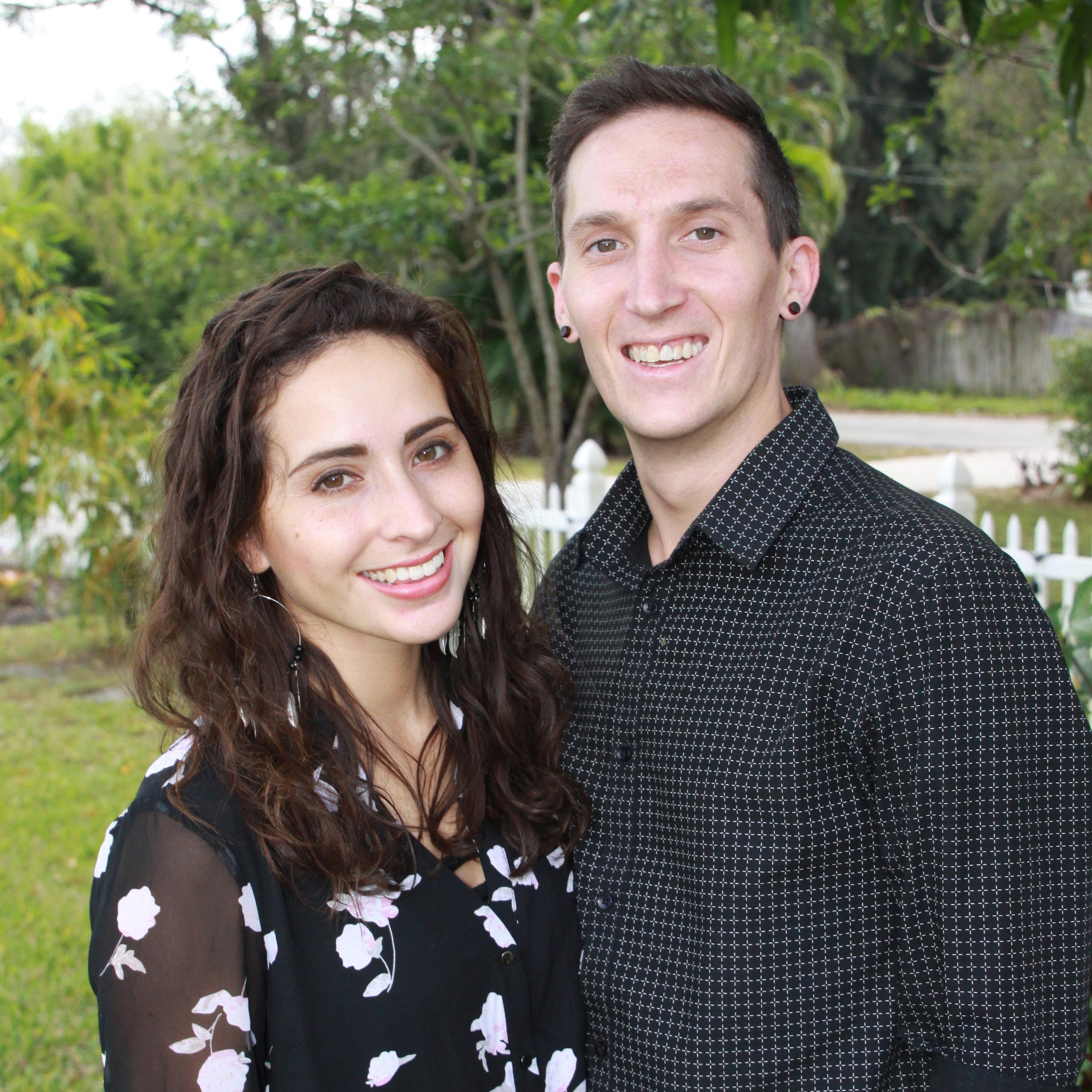 Jordan & Sasha Tinker - Young Adult Ministry, & Sasha – Worship Leader