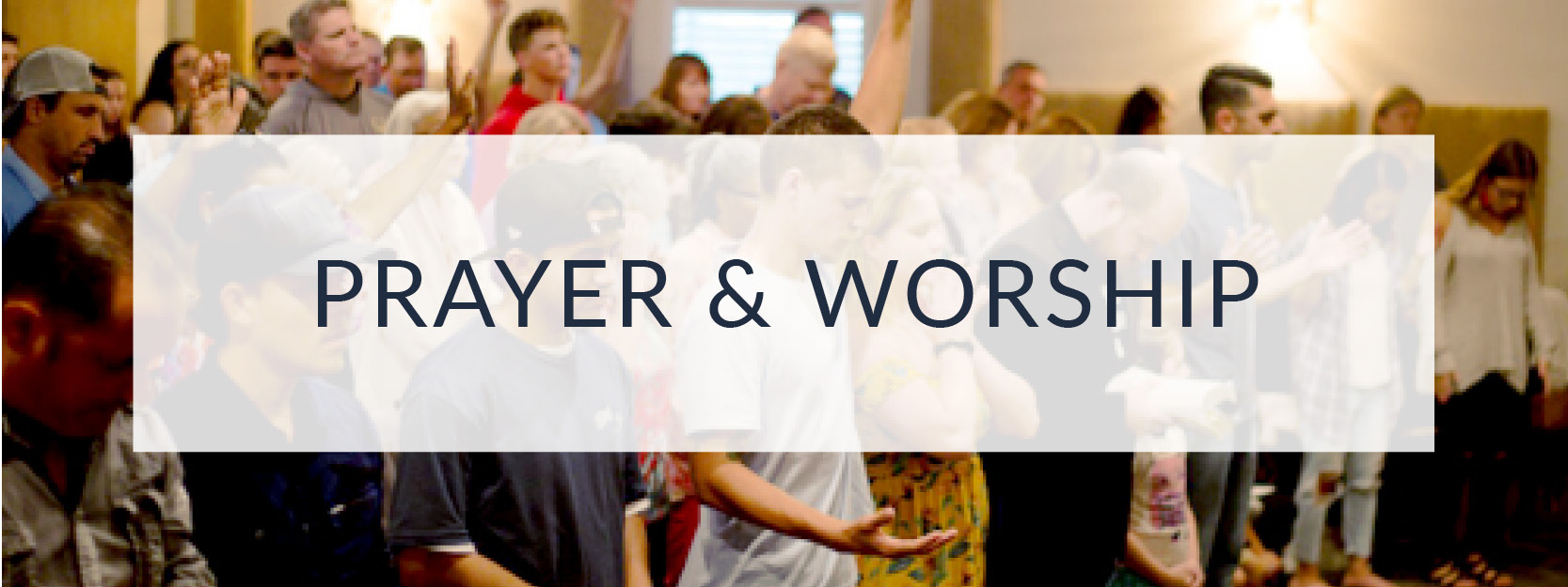 Weekly Sunday services with prayer & worship at the House of Prayer in St. Lucie County