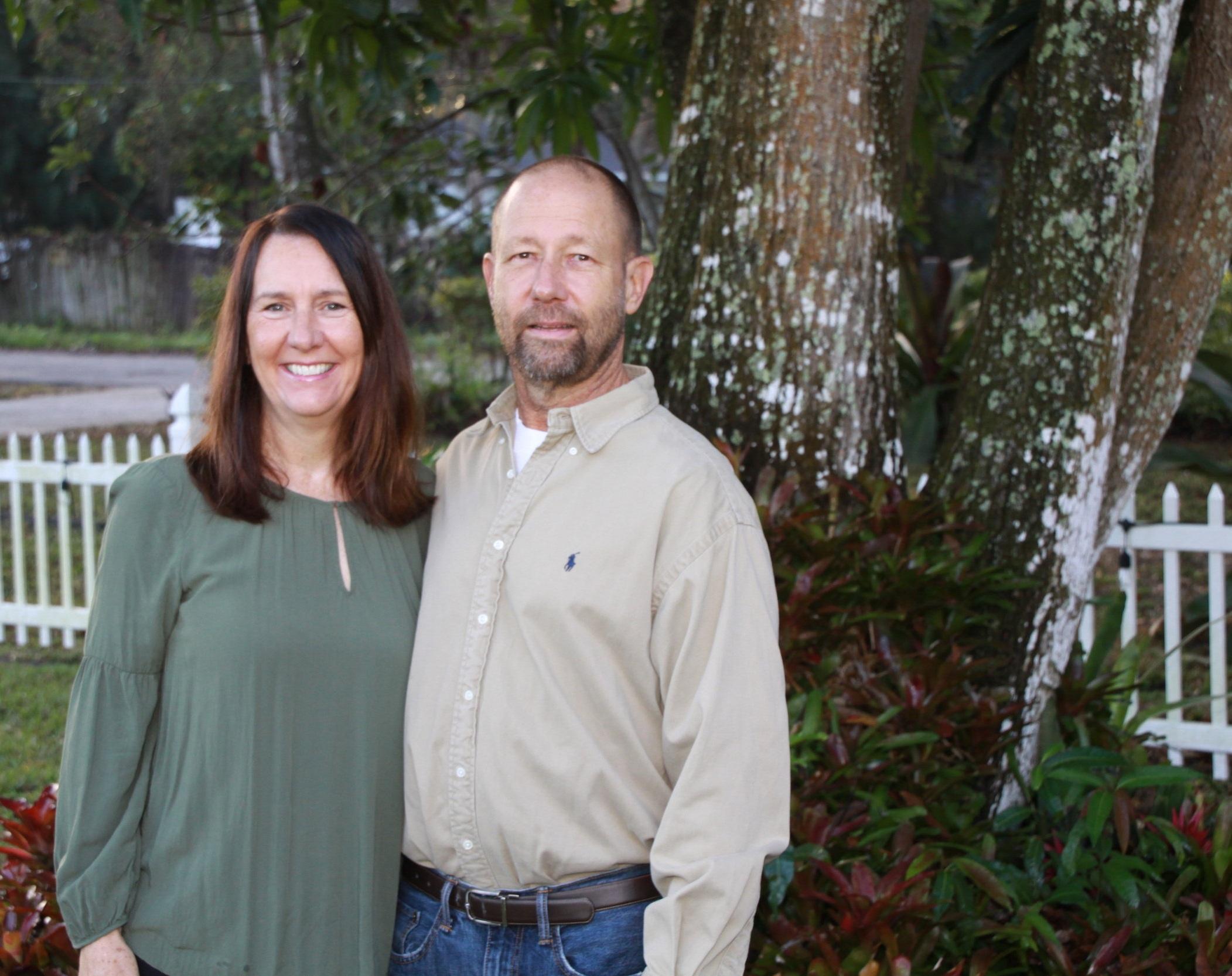 David & Pennie Richwine – Founders/Directors, Pastors of Open Door House of Prayer in Fort Pierce, Florida.