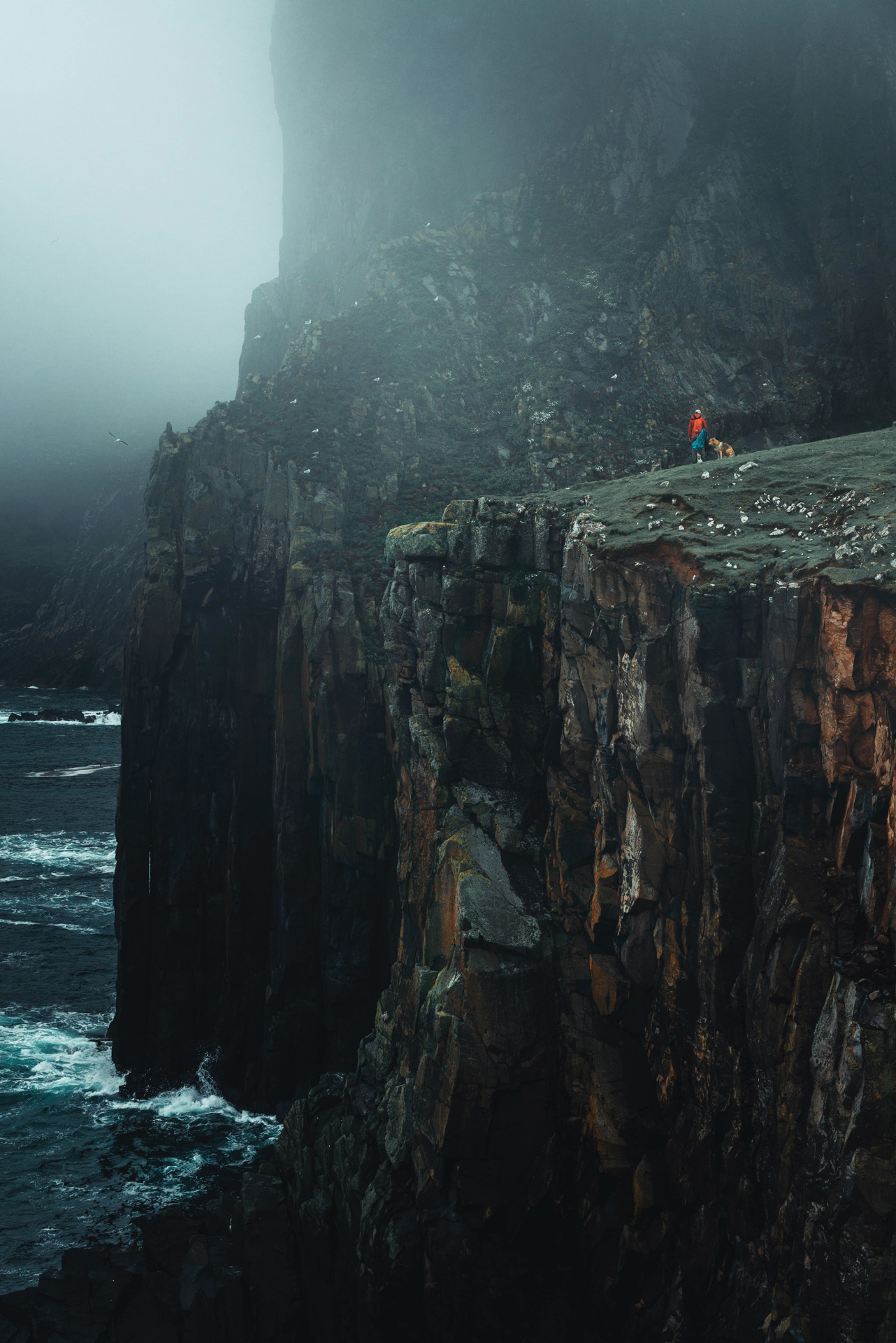 cliff at the neist point