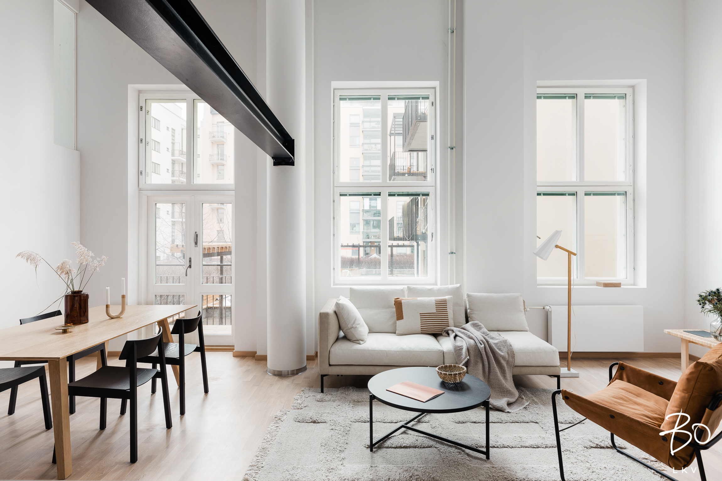 ASUNTO B16 123 m2, 3-5h+avok+s+p