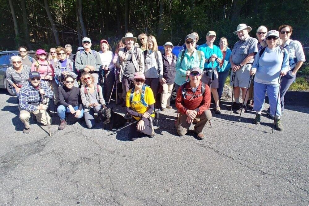 Taconic Hiking Club sponsored a hike with the Housatonic Heritage Event, from Rte 20 to Twin Pond