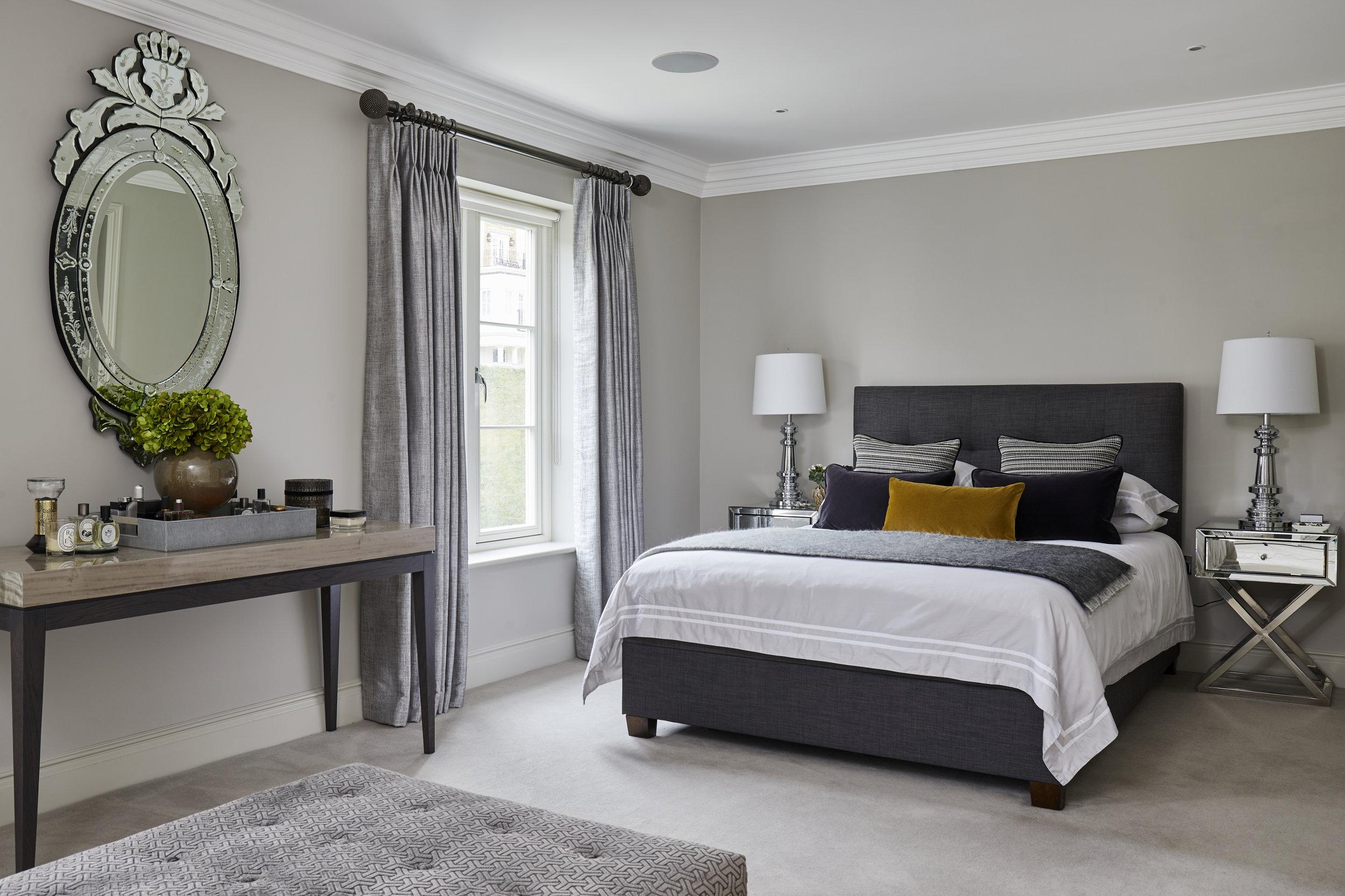 Complete bedroom design