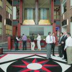 Atrium Lobby and Observation  Elevators
