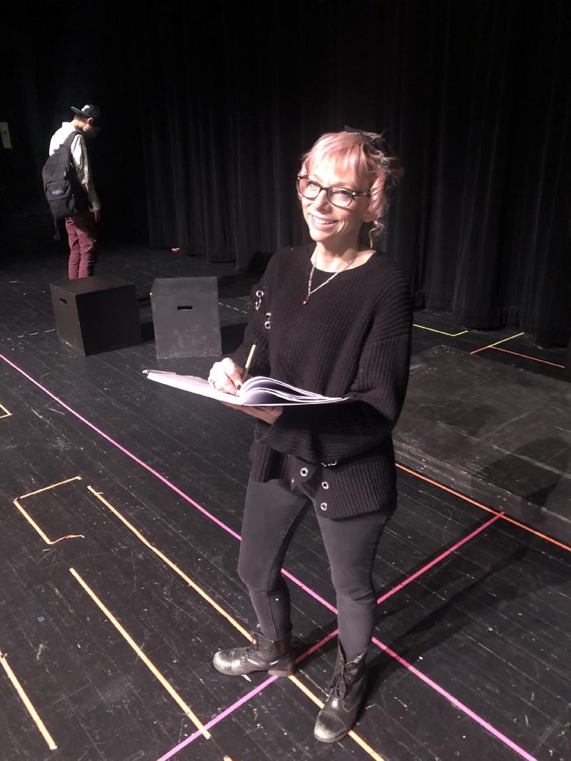 Kirstin Carolin, theatre director for Utica Henry Ford II High School