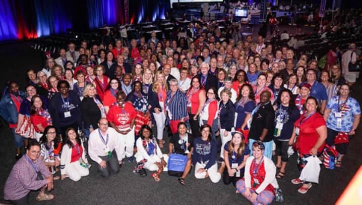 Michigan delegation in Houston