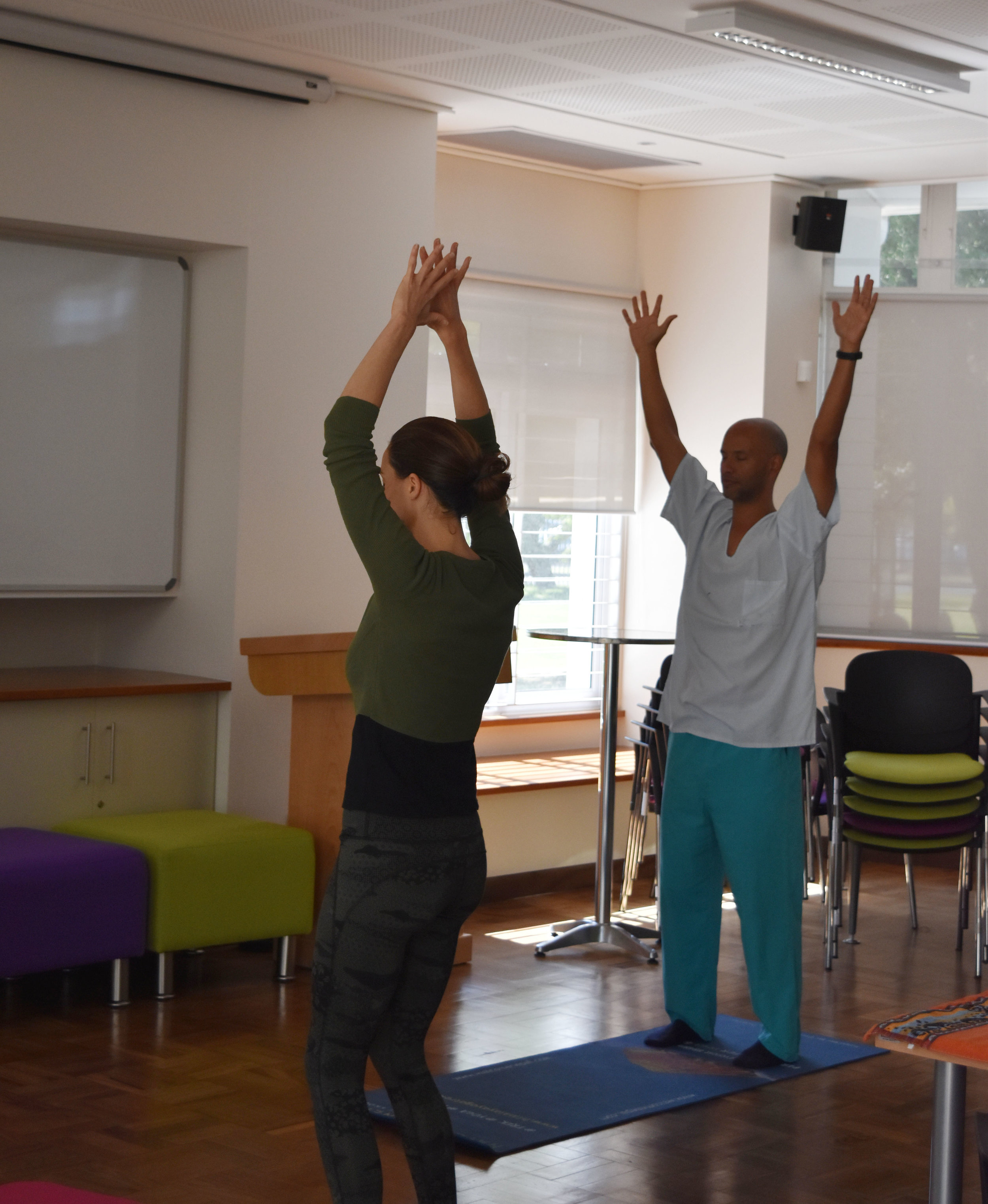 Yoga for Doctors and Hospital Staff