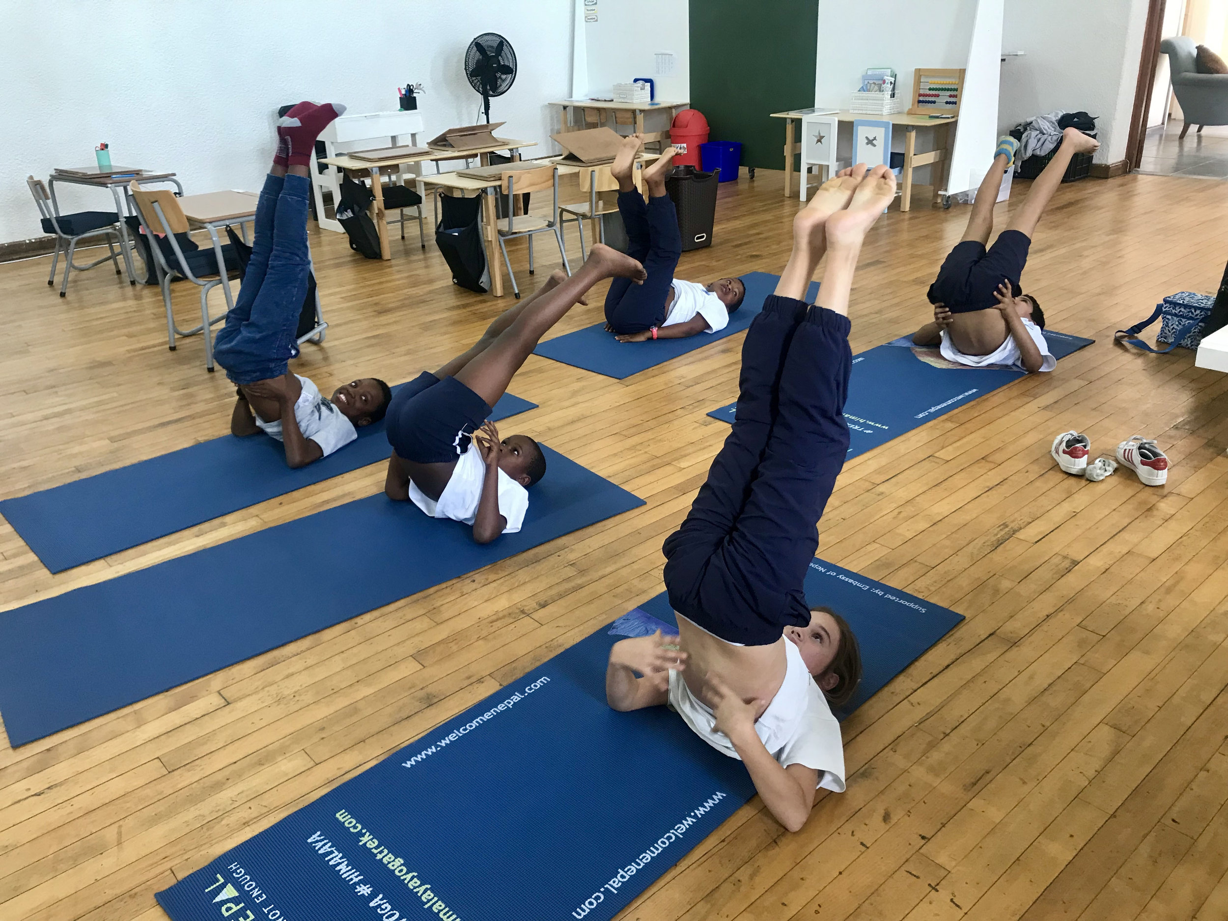 Teaching Yoga In Schools