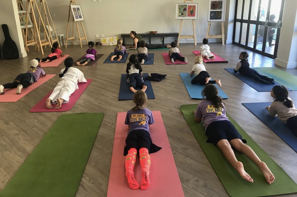 Yoga At Schools in Cape Town