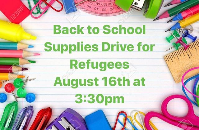 There is still time to sign up for our back to school supply drive supporting refugees! We still need supplies to achieve our goal of 50 backpacks for 50 students. Sign up by copying and pasting the link below or donate through Venmo and use supplies as the caption (@kidconsiousproject). https://www.signupgenius.com/go/70a044aa9ac22aa8-thekidconscious