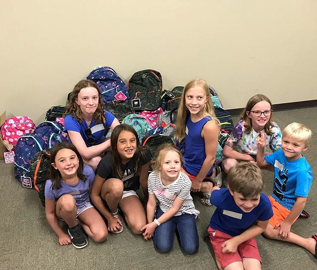 50 backpacks full of new school supplies will go to refugee kids supported by Denver Health next Monday. We hope this will bring a big smile to their faces as they start their first day of school. Thank you for all of the donations to make this important project happen! #refugees #kidshelpingkids #future leaders #coloradokids #backtoschool