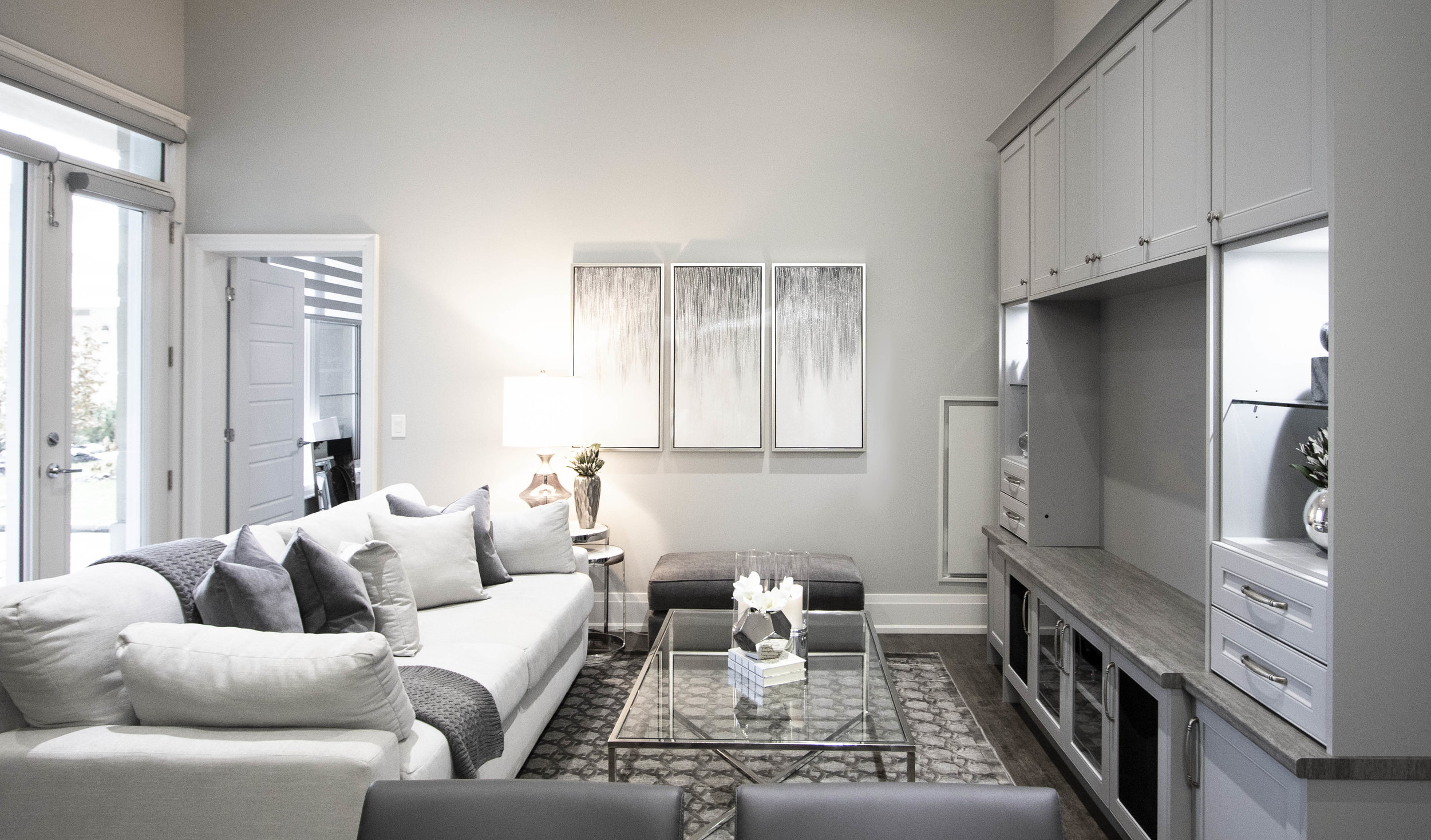 Woodbridge Condo Living And Dining Room Makeover Kimmberly Capone Interior Design