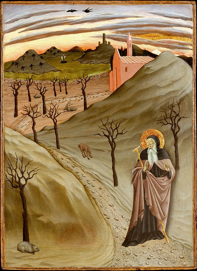 St. Anthony of Egypt, by the Master of the Osservanza