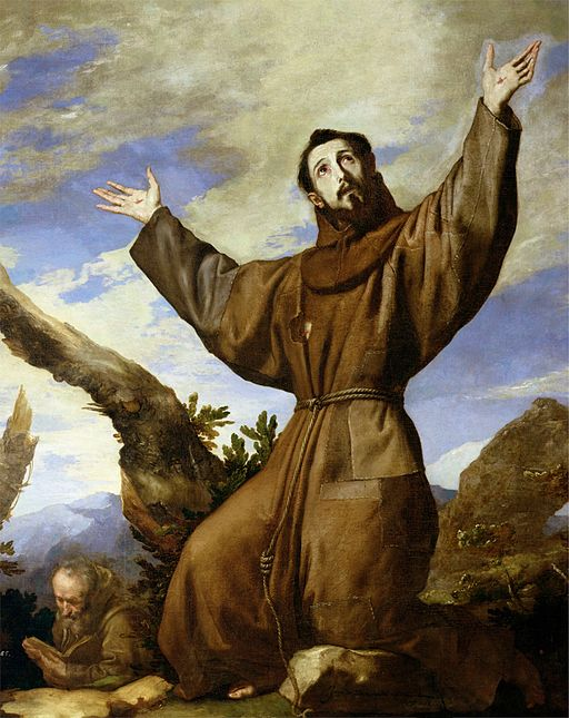 St. Francis of Assisi, by Jusepe de Ribera