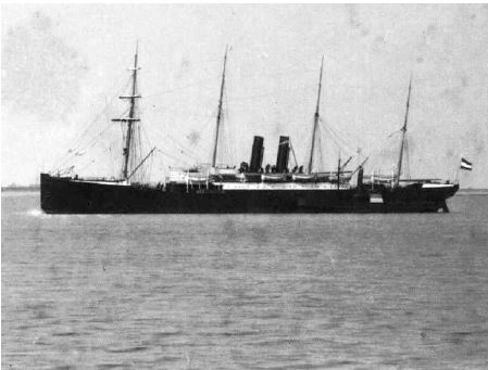 The SS Werra: Sigmund Eisner arrived in America aboard this ship, in steerage.