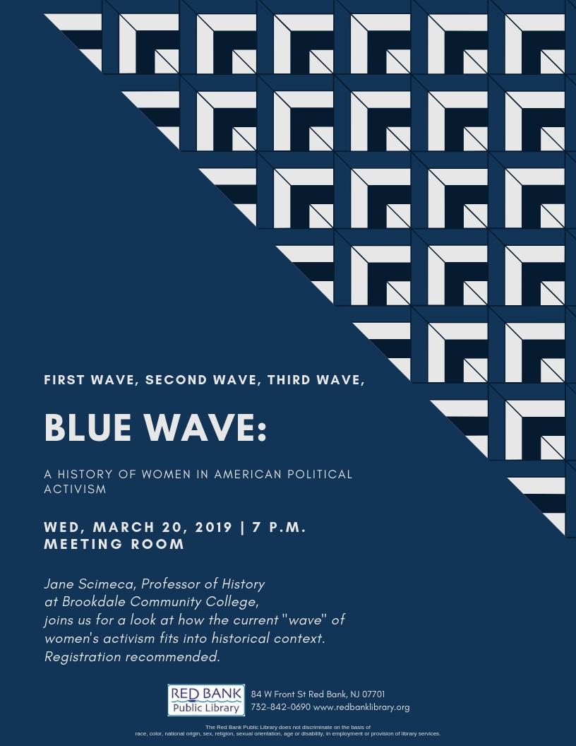 1st Wave, 2nd Wave, 3rd Wave, Blue Wave — Red Bank Public