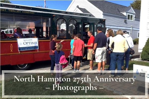 North Hampton 275th Anniversary Photographs