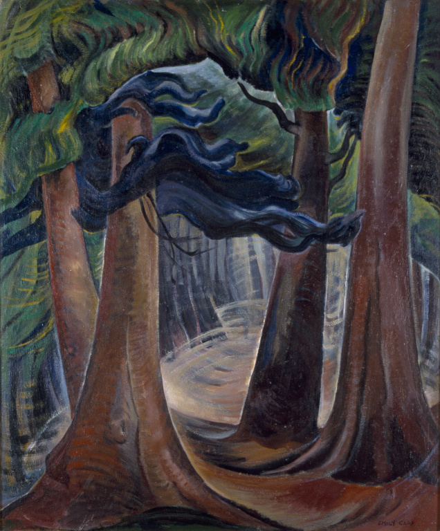 Among the Firs by Emily Carr, circa 1931