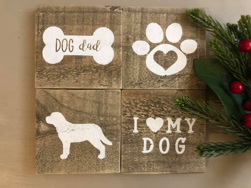 Custom and reclaimed! These Reclaimed Wood Coasters are a great addition for anyone looking to enhance their farmhouse decor.