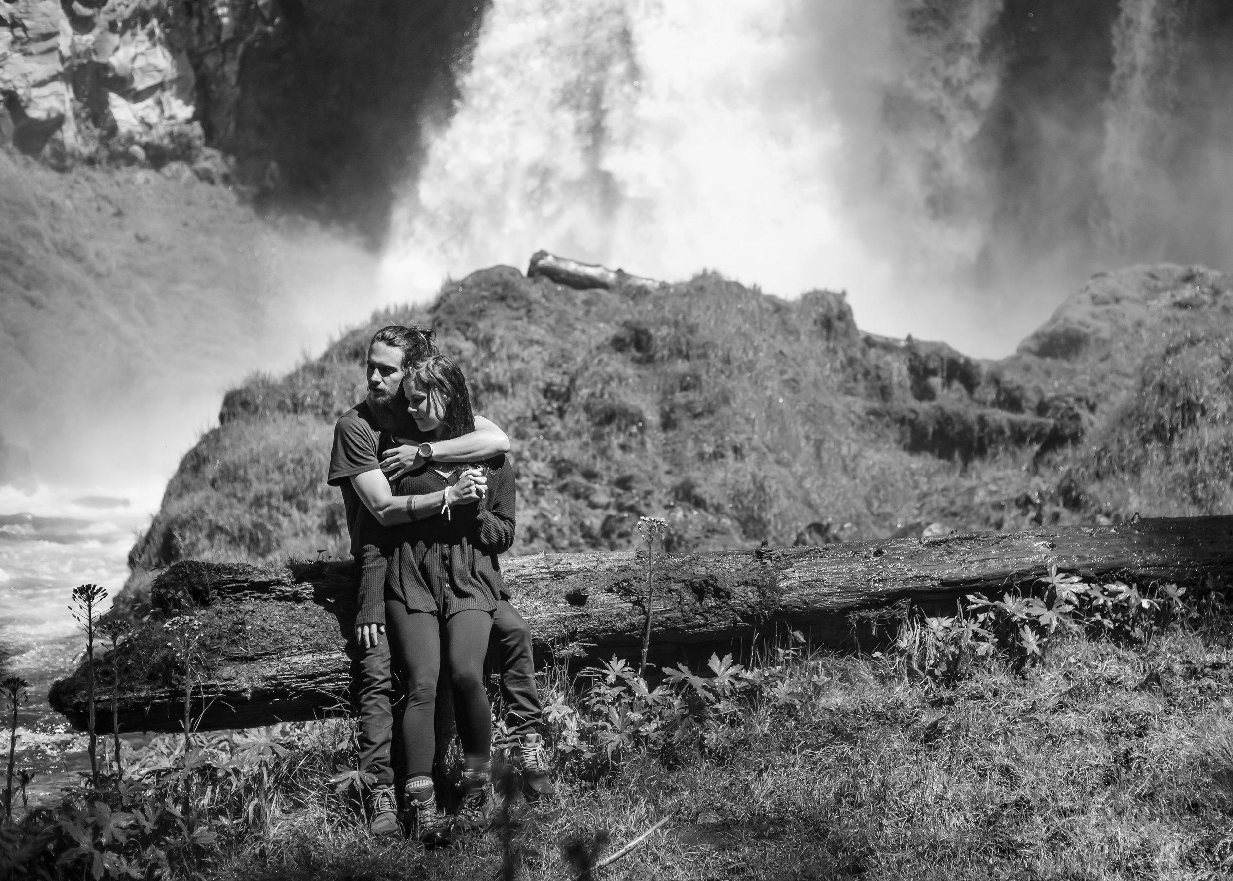 Sahalie Falls // Oregon  Erin & Clint
