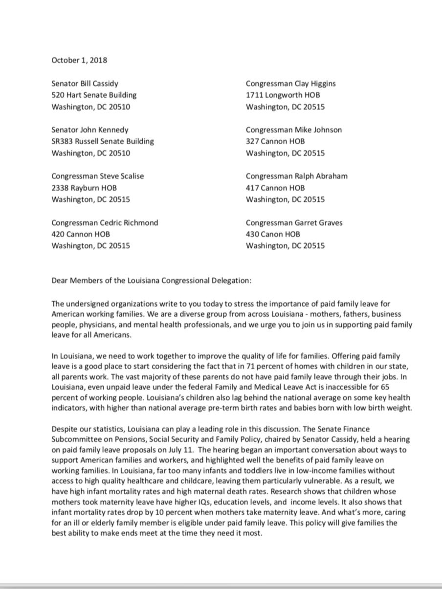 Delegation Letter