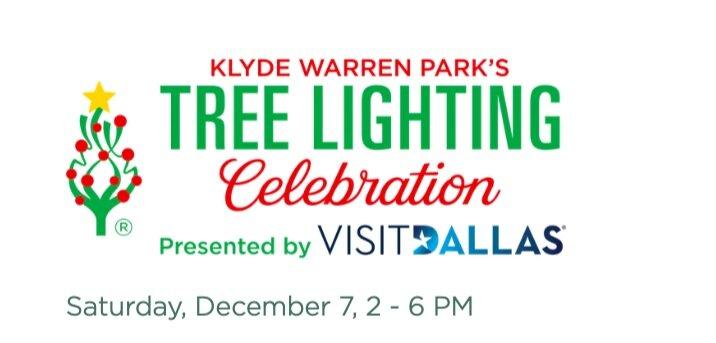 Klyde+Warren+Park+Tree+Lighting
