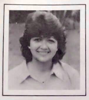 My mother in Tegucigalpa, Honduras, 1988.