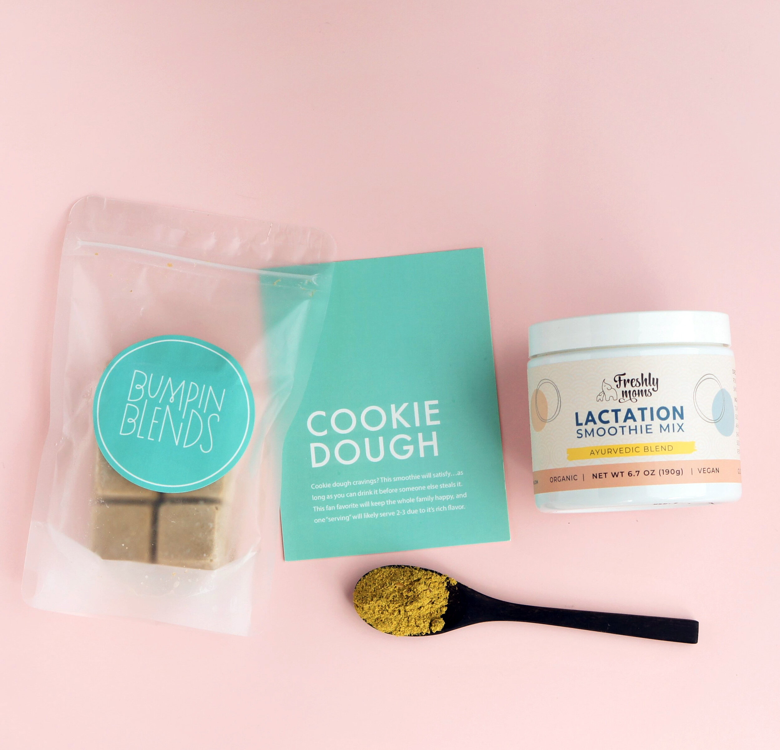 bumpin-blends-cookie-dough-smoothie-bowl-lactation