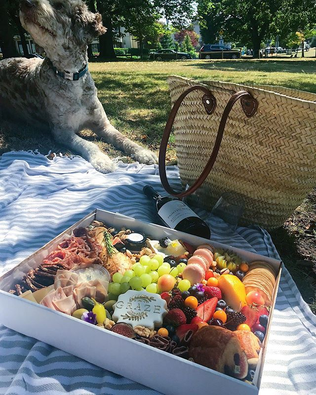 PICNIC PERFECTION 🙌🏻 For one day only we are offering $10 off of our @dinerenblanc.van Graze Box.  Use code BLANC10 at check-out.  Pre-orders close tomorrow at midnight! 📷 @sarakvancity