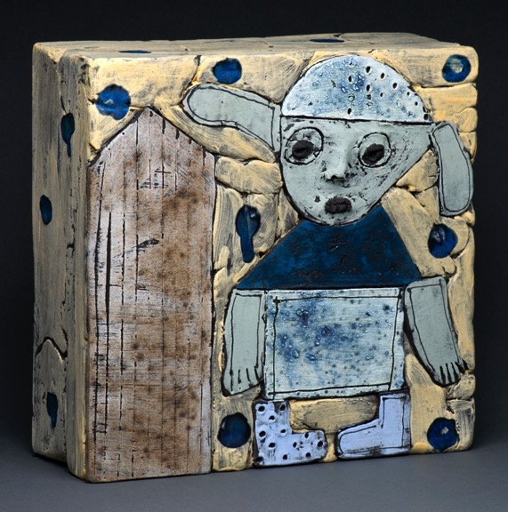 Blue Boots wall box
