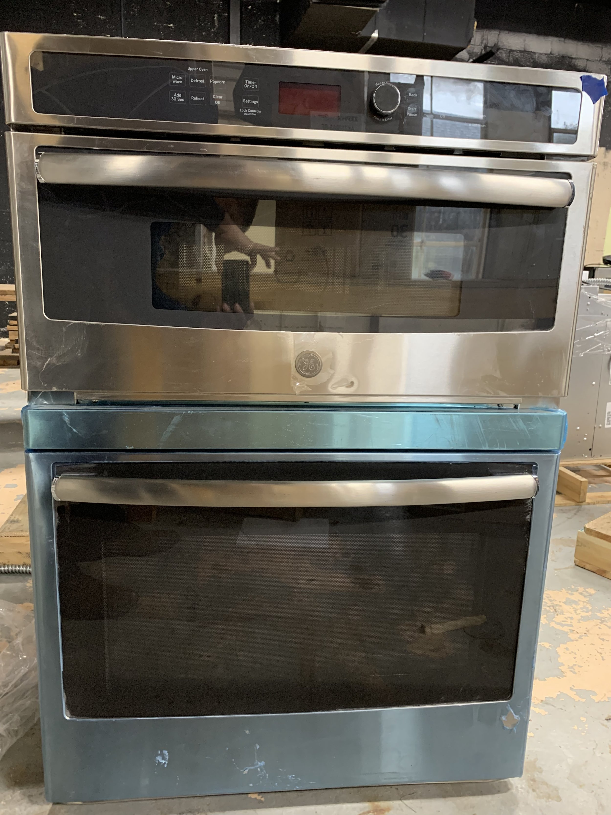 Ge Jt3800shss 30 Inch 6 7 Cu Ft Total Capacity Electric Oven