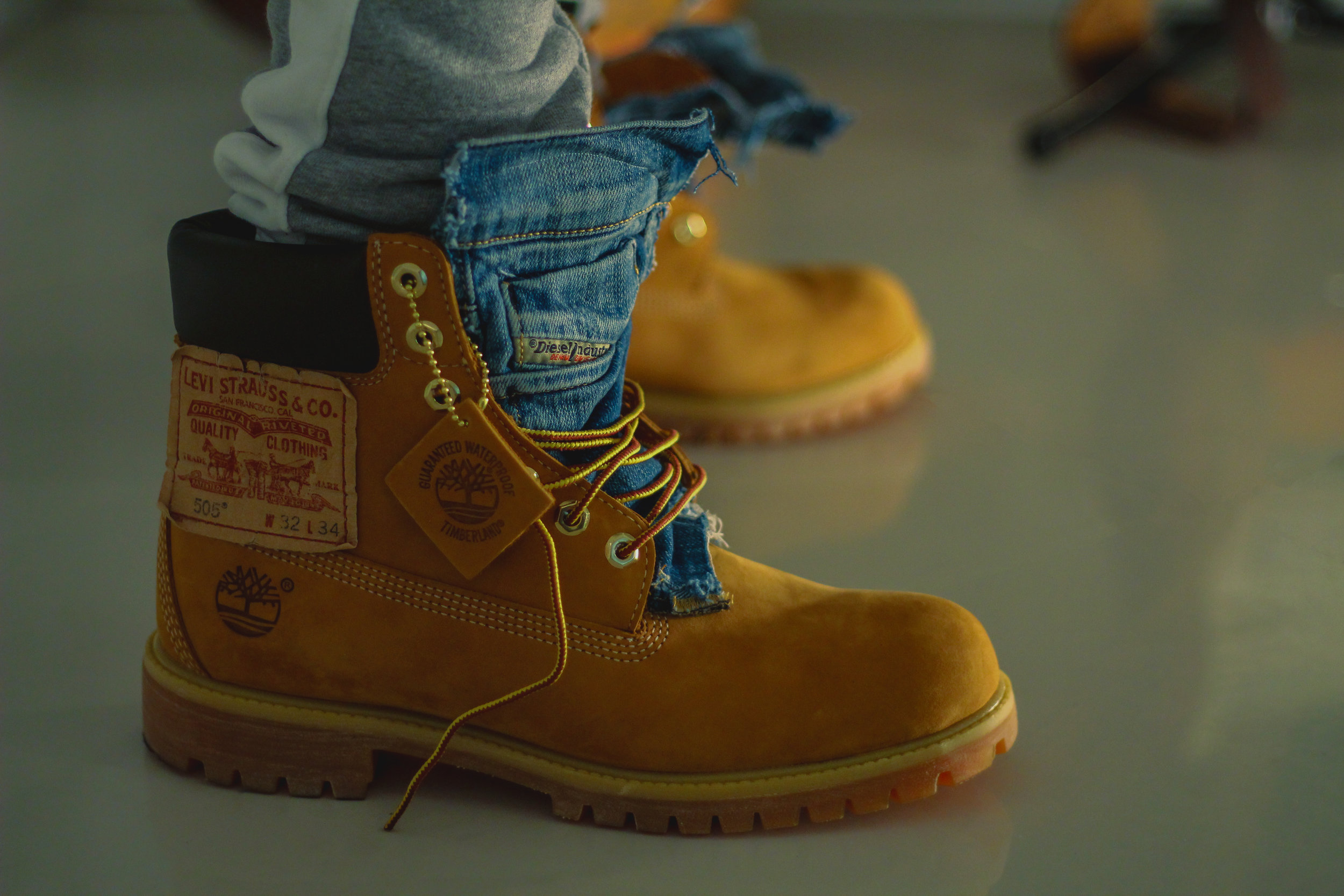 TZUL X TIMBERLAND - Custom concept… to be continued