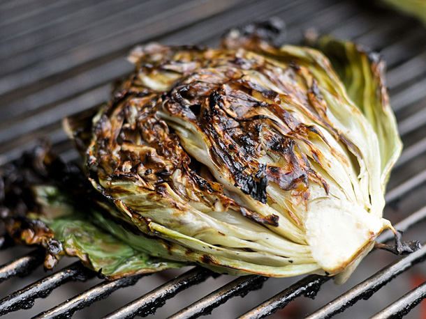 Grilled Radicchio from SeriousEats.com  Above: Variegata di chioggia radicchio from Adaptive seeds
