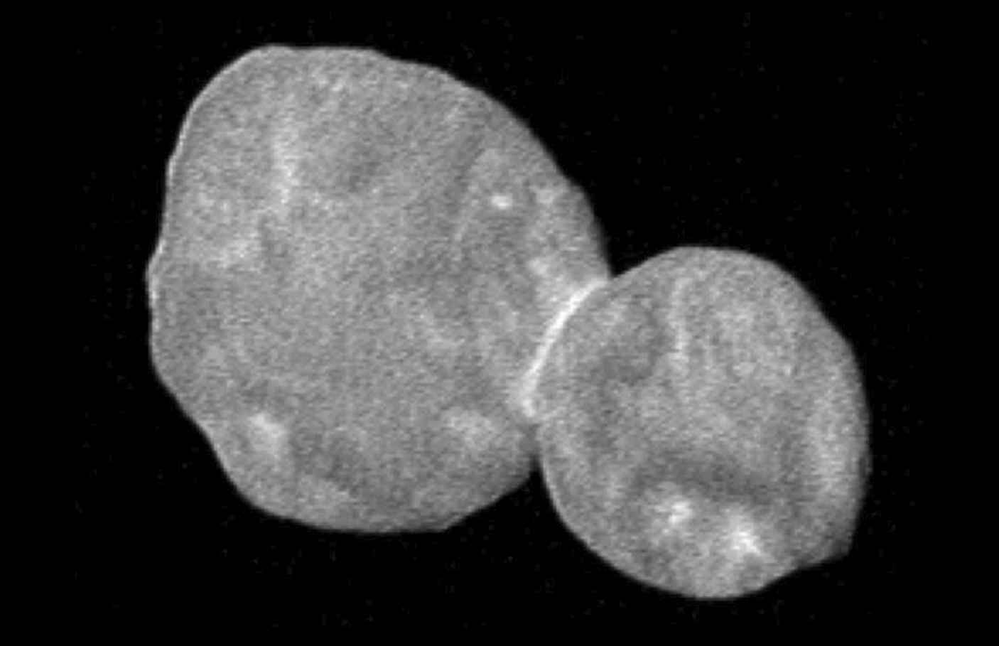 Highest resolution image yet of Optima Thule, the most distant object ever visited by a human spacecraft. Credit: NASA/Johns Hopkins University Applied Physics Laboratory/Southwest Research Institute)