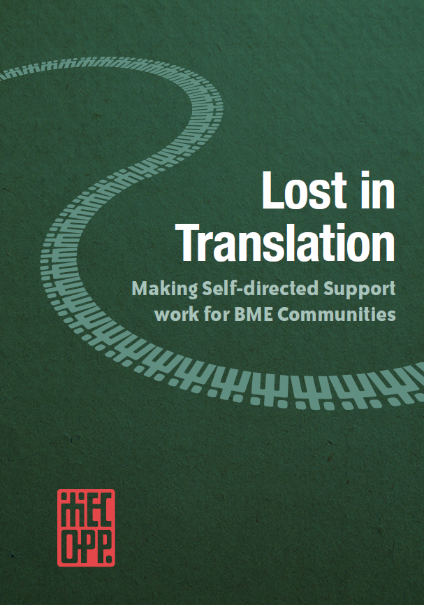 Lost in Translation: Making Self-directed Support work for BME Communities