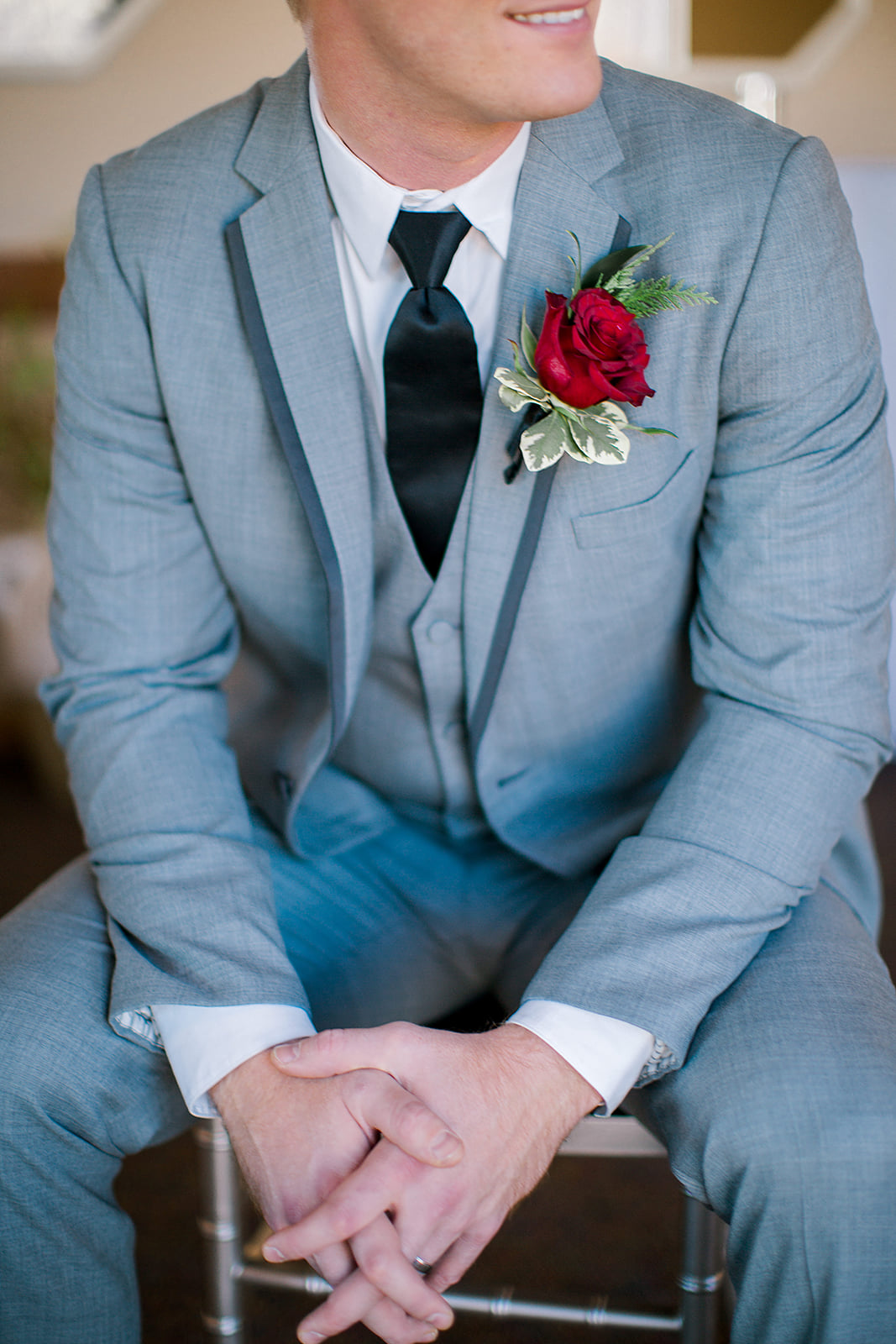 Generation tux for groom, exclusive partner deal through Fab weddings to save money for your wedding | photo by Rachel Graff Photography