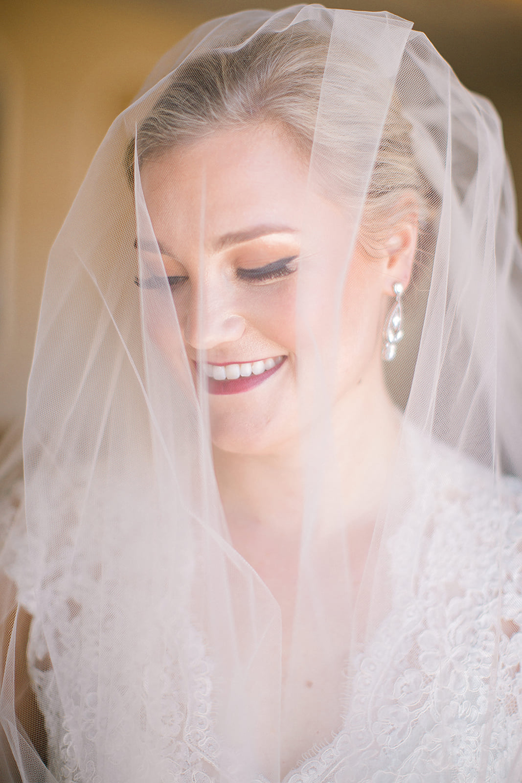 Mirandart Makeup with veil over brides face, Romantic wedding venue in Minnesota | photo by Rachel Graff Photography